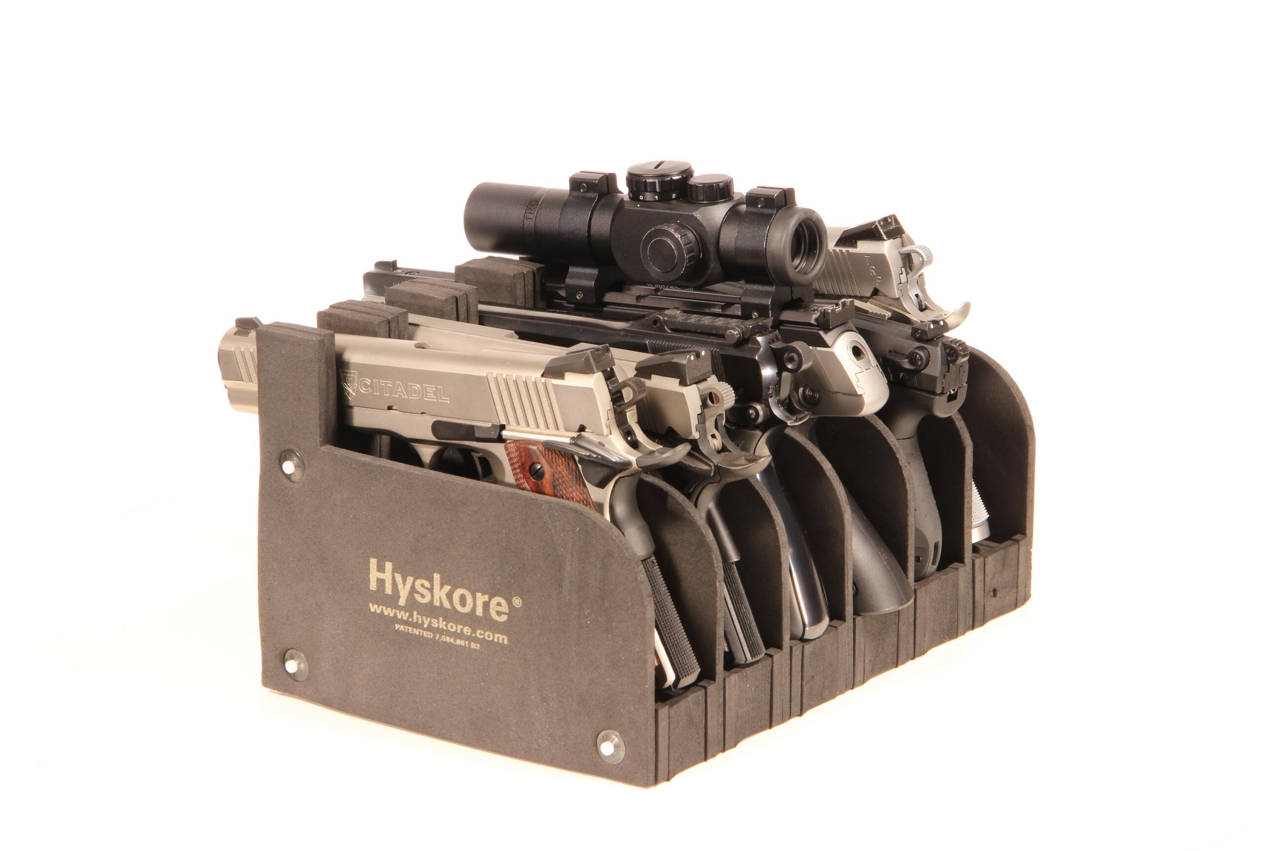 Hyskore Professional Shooting Accessories 30277 6 Gun Pistol Rack